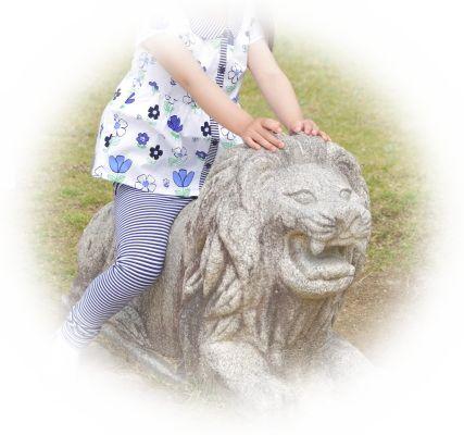 ライオンを手なずけている夢(ライオンを飼う夢)