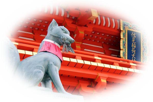 神社で動物に会う夢