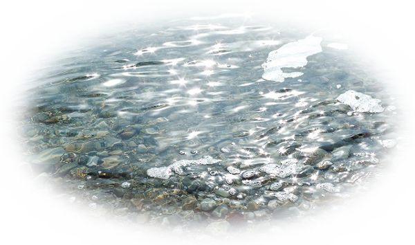 美しい川を見る夢(川べりの草木や砂利がきれいな夢)
