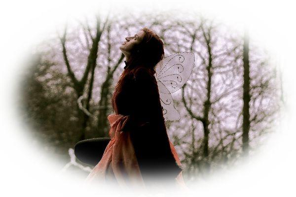 妖精が飛んでいる夢(妖精があなたのそばに座っている夢)