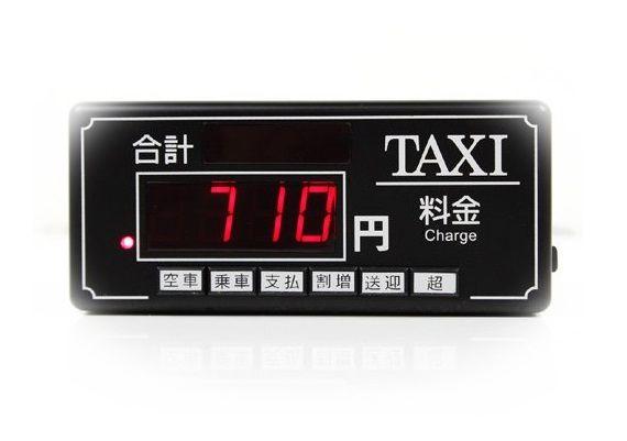 タクシーのメーターを見る夢(タクシーのメーターがどんどん上がる夢)