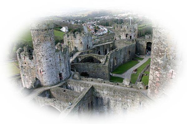 廃墟になった城や宮殿を見る夢