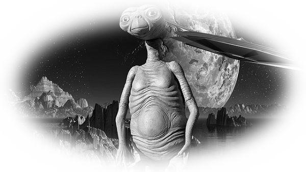 UFOから宇宙人が出てくる夢