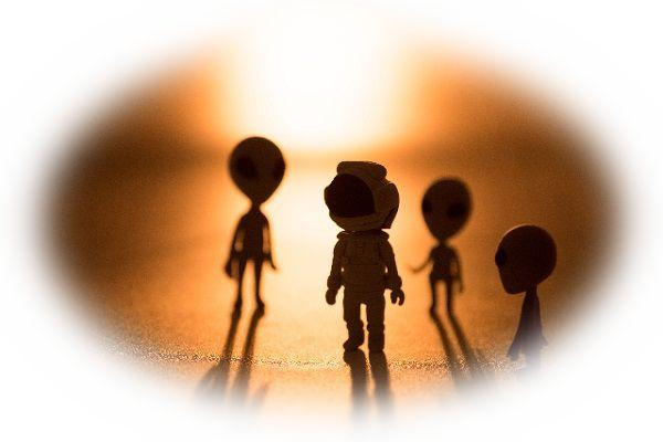 宇宙人を助ける夢
