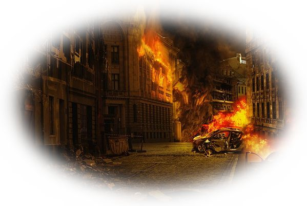 マンションやアパートが火事の夢