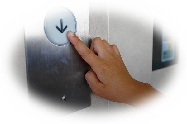 エレベーターで下りる夢