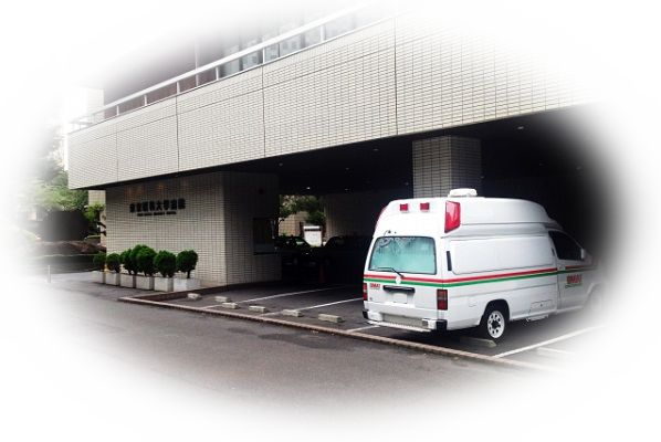 救急車を病院の前で見る夢