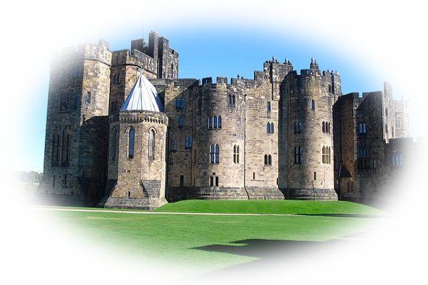 外国の城を見る夢