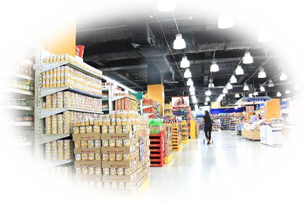 スーパーや市場を歩く夢