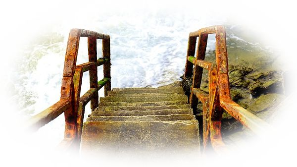 階段から降りれない夢