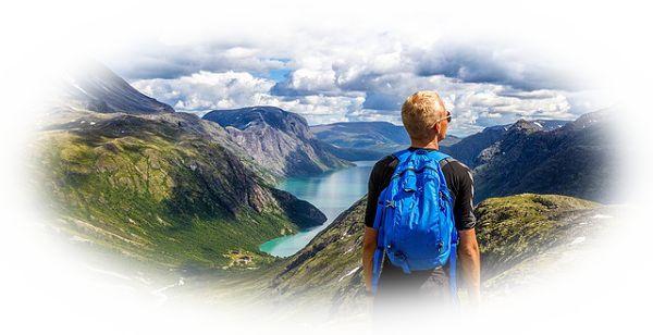 山上で人に会う夢(山の中で迷っているときに人に出会う夢)