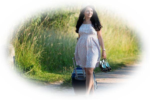 一人旅をする夢(一人旅をしていて目的地に到着する夢)