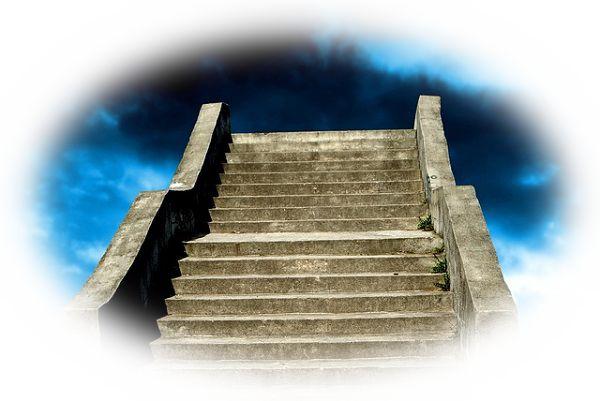 階段が途中で途切れている夢(階段が途中で行き止まりになっている夢)
