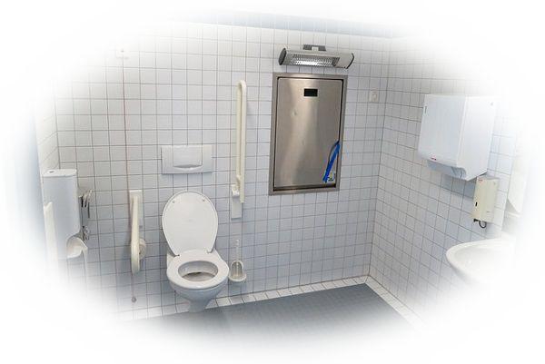 公園のトイレに入る夢
