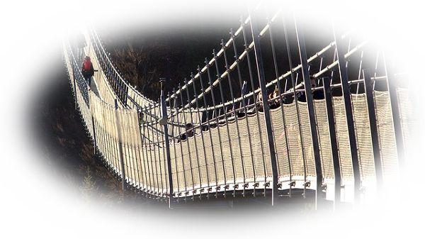 吊り橋を渡る夢(吊り橋を渡り切る夢)