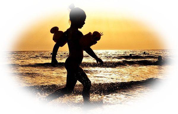 海上を歩く夢(海上を忍者のように走る夢)