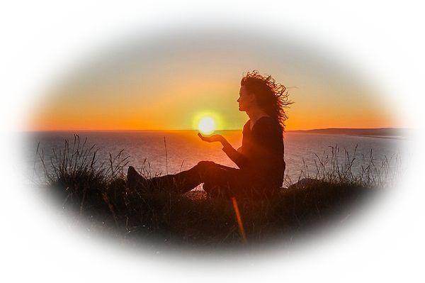 夕日が沈む夢(太陽が沈む夢)