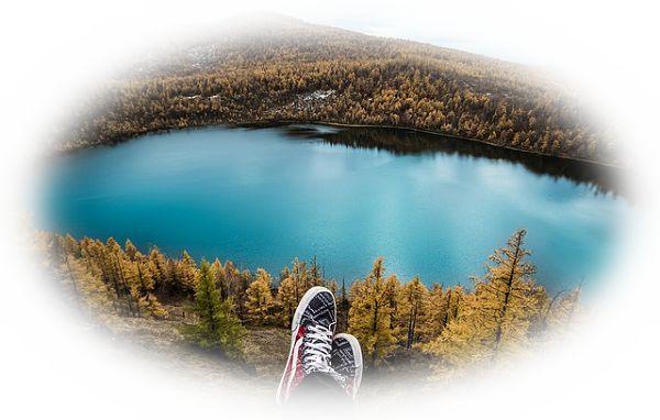 湖に到達する夢