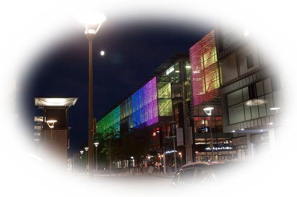 夜に虹を見る夢