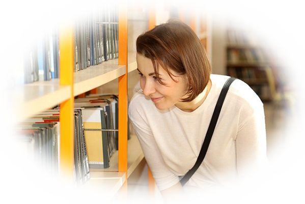 図書館で探している本がすぐに見つかる夢