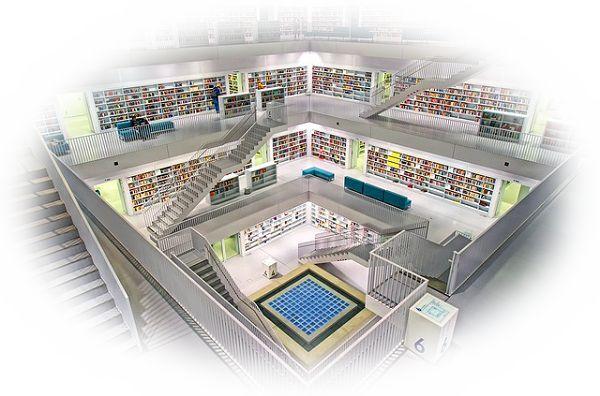 図書館に出かける夢