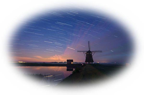 星が飛ぶ夢