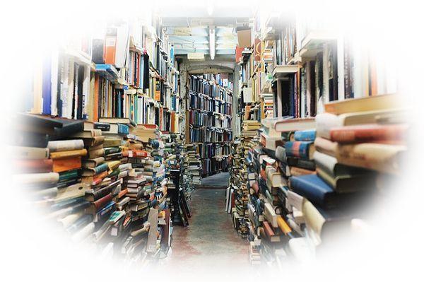 図書館の本が整理されていない夢