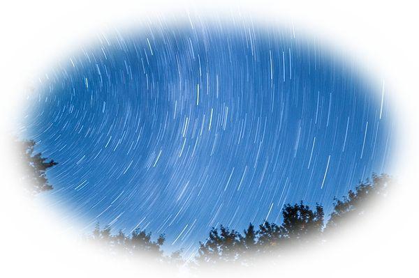 星が雨のように降ってくる夢