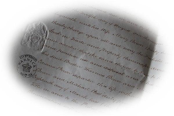 差出人が不明の手紙を届く夢