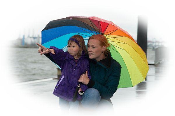 相々傘(あいあいがさ)をする夢(好きな人と相々傘をする夢、嫌いな人と相々傘をする夢、知らない異性と相々傘をする夢)