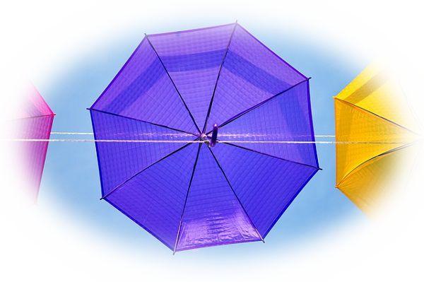 晴天なのに雨傘をさす夢