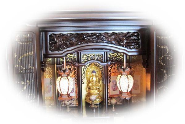 仏壇が壊れる夢