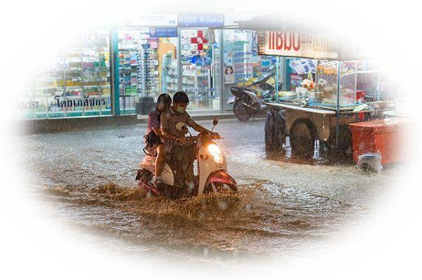 洪水の夢占い