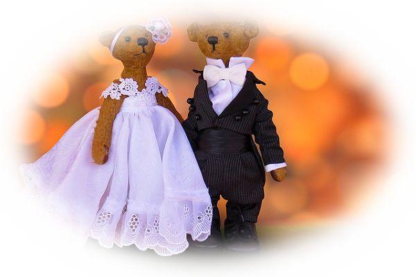 手作りのウエディングドレスを着る夢