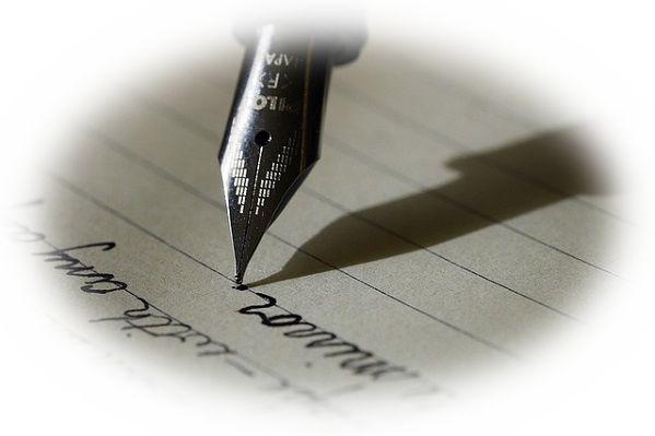 自分の名前を書く夢