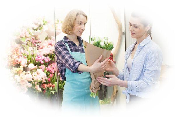 花束を買う夢